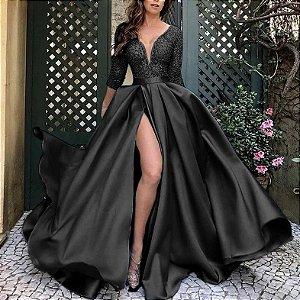 Vestido Longo GLAMOUR NIGHT - Várias Cores