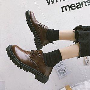 Sapato de Couro BASICWEAR - Duas Cores