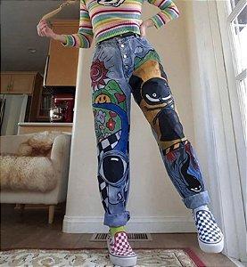 Calça Jeans GRAFITADOS