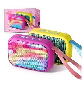 Caixa de Som Bluetooth EXBOM Color Candy - Duas Cores