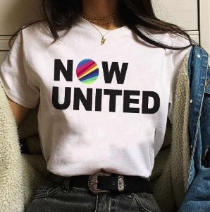 Camiseta NOW UNITED