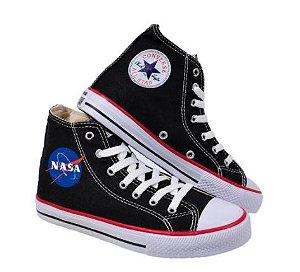Tênis STAR Cano Alto NASA - Três Cores