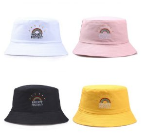 BUCKET HAT Radiate Positivity - Várias Cores