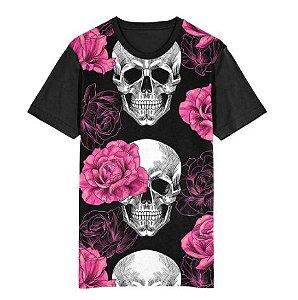 Camiseta ROSAS & CAVEIRAS