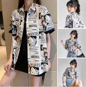 Camisa ONE PIECE WANTED