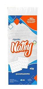 ALGODÃO  QUADRADINHO - PACOTE 40G - NATHY