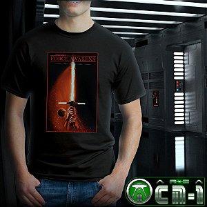 Star Wars- The Force Awakens Retro poster