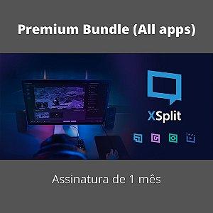 XSplit Pacote Premium (Todos os Apps) 1 Mês