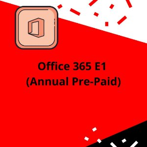 Office 365 E1 (Annual Pre-Paid)