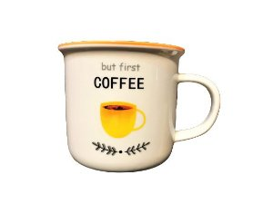 CANECA BUT FIRST COFFEE BRANCA 350ml