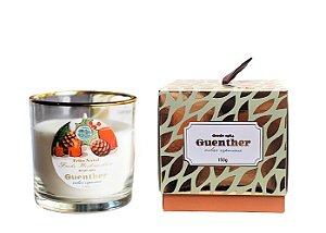 Vela Perfumada Copo Aroma Feliz Natal 150g - Guenther