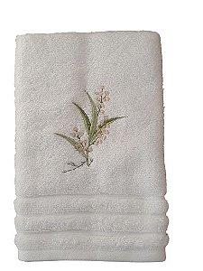 Toalha para Lavabo Floral