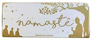 Quadro Box Namaste 8x20cm