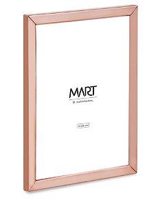 PORTA-RETRATO ROSE GOLD EM METAL - 20X25cm