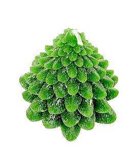 Vela Arvore de Natal Verde Decorativa