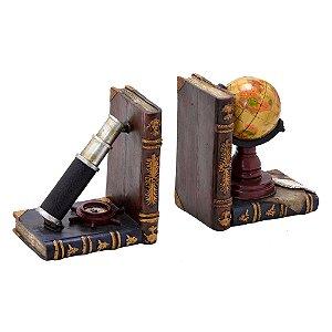 Porta Livro Decorativo