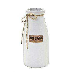Vaso Ceramica Branco