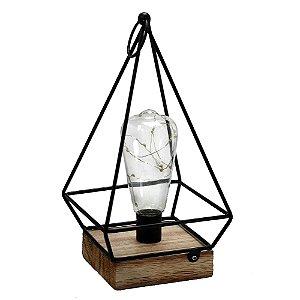 Lanterna Industrial com Luz de Led
