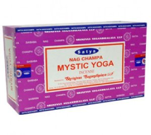 Incenso Satya Mystic Yoga Massala
