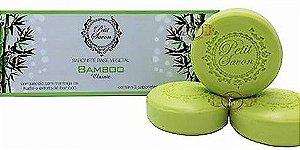 Kit com 3 sabonetes Bamboo 100g Petit Savon