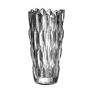 Vaso de Vidro Incolor Decorativo