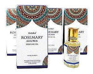 Oleo Aromatizador Essencial Indiano Rosemary Alecrim - Goloka