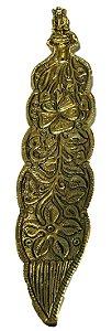 Incensario de Aluminio Ganesha Dourado