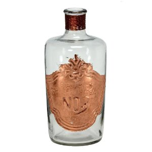 Garrafa de Vidro 26cm Parfumerie 1819