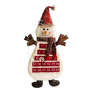 Boneco de Neve Calendario Scott