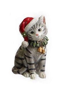 Adornos Pets Pretties Gato Branco e Preto