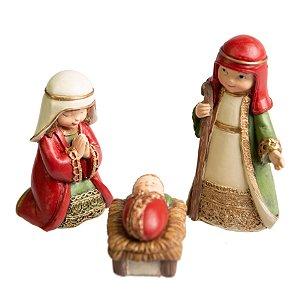 Sagrada familia Pretties COLOR em Resina - 3pçs