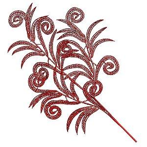 Galho Must - Vermelho - 60 cm
