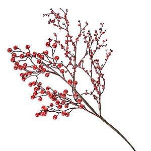Galho natural cereja - 60 cm