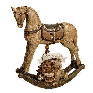 Cavalo balanco Pretties Marrom