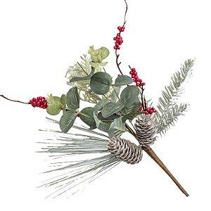 Pick Pinha Eucalipto - Vd/nt - 45 cm