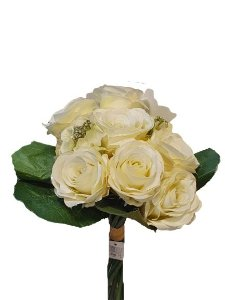 Buque de Rosas Branca - 7 Rosas 35cm