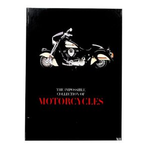 CAIXA LIVRO  BOOK BOX THE COLLECTION OF MOTORCYCLES FULLWAY