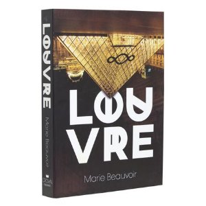 CAIXA LIVRO BOOK BOX LOUVRE FULLWAY