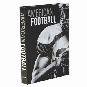 LIVRO CAIXA BOOK BOX FUTEBOL AMERICANO