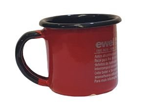Caneca Cafe Ewel Agata Vermelha
