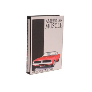 CAIXA LIVRO DECOR AMERICAN MUSCLE CAR M