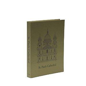 CAIXA LIVRO BOOK BOX METALIZADO CATHEDRAL