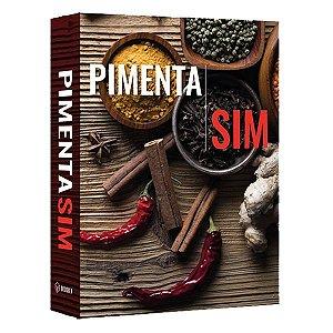 CAIXA LIVRO BOOK BOX PIMENTAS SIM