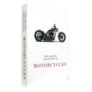 CAIXA LIVRO BOOK BOX THE COLLECTION OF MOTORCYCLES VOL.2