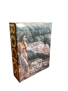 CAIXA LIVRO BOOK BOX ROCKS