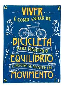 Quadro Box Bicicleta 30x40cm
