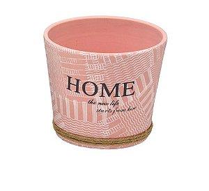 Vaso Decorativos Home Rosa