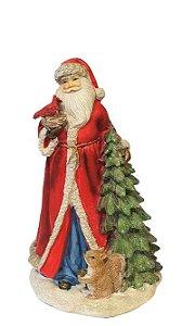 Papai Noel Pets Pretties com Arvore de Natal em Resina