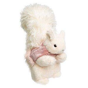 Esquilo em Pe Branco e Rosa
