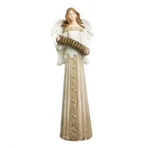 Anja Decorativa com luz na saia e acordeon